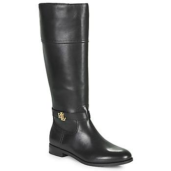 Pantofi Femei Cizme casual Lauren Ralph Lauren BAYLEE Negru