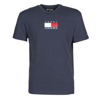 Îmbracaminte Bărbați Tricouri mânecă scurtă Tommy Jeans TJM SMALL FLAG TEE Bleumarin