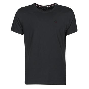 Îmbracaminte Bărbați Tricouri mânecă scurtă Tommy Jeans TJM ORIGINAL JERSEY TEE Negru
