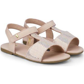 Pantofi Fete Sandale  Bibi Shoes Sandale Fete Bibi Baby Birk Mini Camelia Glow Roz
