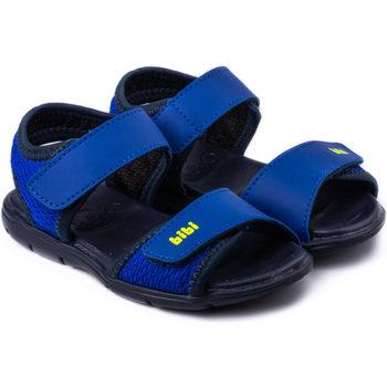 Pantofi Băieți Sandale  Bibi Shoes Sandale Baieti Bibi Basic Mini Naval Cu Velcro Bleumarin