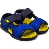 Pantofi Băieți Sandale  Bibi Shoes Sandale Baieti Bibi Basic Mini Naval/Galben Bleumarin