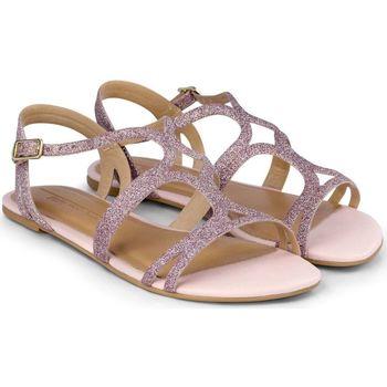 Pantofi Fete Sandale  Bibi Shoes Sandale Fete Little Me Glitter Sweet Roz