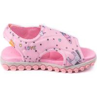 Pantofi Băieți Sandale  Bibi Shoes Sandale Fete Summer Roller New II Sugar Cu Velcro Roz