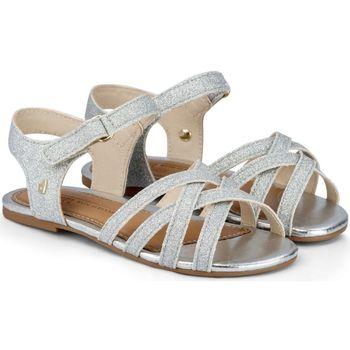 Pantofi Fete Sandale  Bibi Shoes Sandale Fete Mini Me Glitter/Silver Argintiu