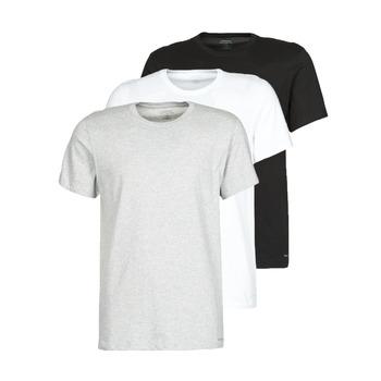 Îmbracaminte Bărbați Tricouri mânecă scurtă Calvin Klein Jeans CREW NECK 3PACK Gri / Negru / Alb