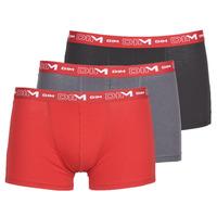 Lenjerie intimă Bărbați Boxeri DIM COTON STRETCH Gri / Roșu / Negru
