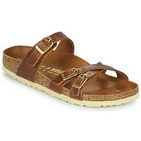 Pantofi Femei Papuci de vară Birkenstock FRANCA Maro