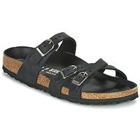 Pantofi Femei Papuci de vară Birkenstock FRANCA Negru