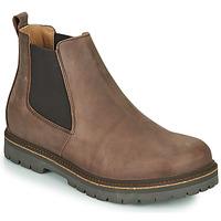 Pantofi Bărbați Ghete Birkenstock STALON Maro