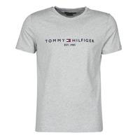 Îmbracaminte Bărbați Tricouri mânecă scurtă Tommy Hilfiger TOMMY LOGO TEE Gri
