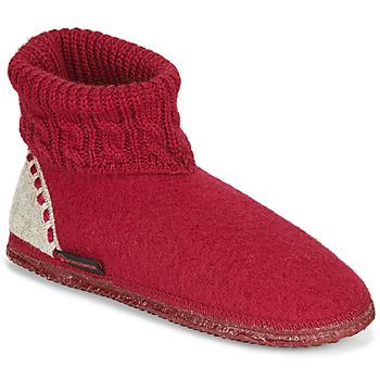 Pantofi Femei Papuci de casă Giesswein FREIBURG Roșu