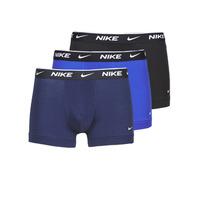 Lenjerie intimă Bărbați Boxeri Nike EVERYDAY COTTON STRETCH Negru / Albastru / Albastru