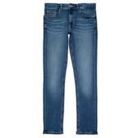 Îmbracaminte Băieți Jeans slim Tommy Hilfiger SCANTON SLIM Albastru
