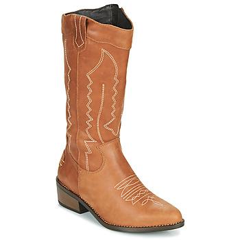 Pantofi Femei Cizme casual Musse & Cloud TEDINA Coniac