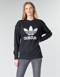 Îmbracaminte Femei Hanorace  adidas Originals TRF CREW SWEAT Negru