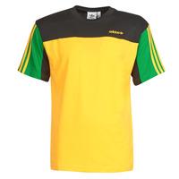 Îmbracaminte Bărbați Tricouri mânecă scurtă adidas Originals CLASSICS SS TEE Auriu / Active