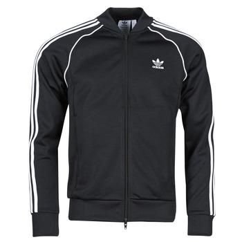 Îmbracaminte Bărbați Bluze îmbrăcăminte sport  adidas Originals SST TT P BLUE Negru