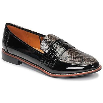 Pantofi Femei Mocasini Moony Mood NOULIE Negru