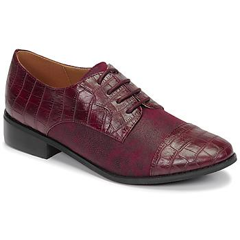 Pantofi Femei Pantofi Derby Moony Mood NOULESSE Bordo