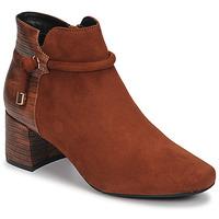Pantofi Femei Botine Moony Mood NANOU Camel