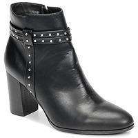 Pantofi Femei Botine Moony Mood NINOU Negru
