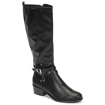Pantofi Femei Cizme casual Moony Mood NELLE Negru