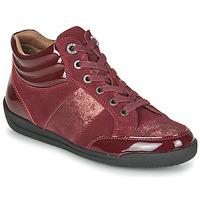 Pantofi Femei Pantofi sport stil gheata Damart 57079 Bordo