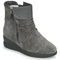 Pantofi Femei Ghete Damart 64305 Gri