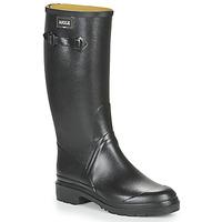 Pantofi Bărbați Cizme de cauciuc Aigle CESSAC Black