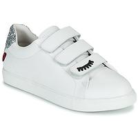 Pantofi Femei Pantofi sport Casual Bons baisers de Paname EDITH EYES Alb