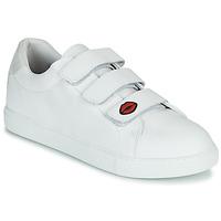 Pantofi Femei Pantofi sport Casual Bons baisers de Paname EDITH LEGENDE Alb