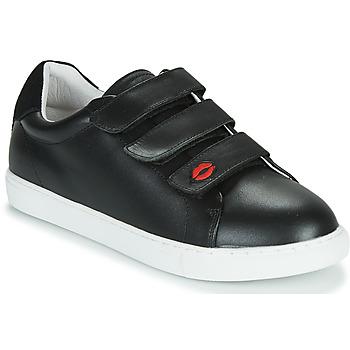 Pantofi Femei Pantofi sport Casual Bons baisers de Paname EDITH LEGENDE Negru