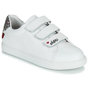 Pantofi Femei Pantofi sport Casual Bons baisers de Paname EDITH CHERI Alb