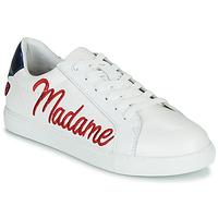 Pantofi Femei Pantofi sport Casual Bons baisers de Paname SIMONE MADAME MONSIEUR Alb