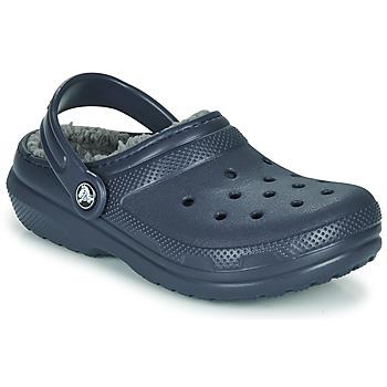 Pantofi Copii Saboti Crocs CLASSIC LINED CLOG K Blue