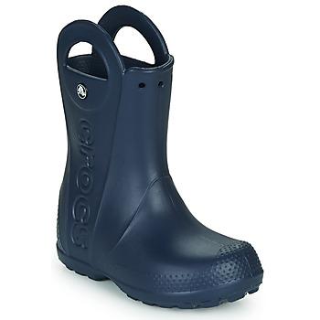 Pantofi Copii Cizme de cauciuc Crocs HANDLE IT RAIN BOOT Navy