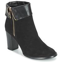 Pantofi Femei Botine Moony Mood FRISETTE Negru