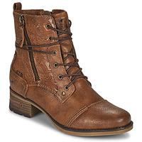 Pantofi Femei Ghete Mustang 1229508 Coniac