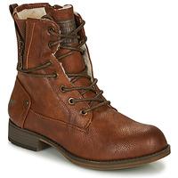 Pantofi Femei Ghete Mustang 1139630 Coniac