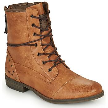 Pantofi Femei Ghete Mustang 1157508 Camel