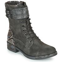 Pantofi Femei Ghete Mustang 1332506 Gri