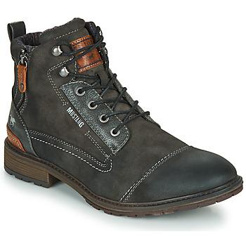 Pantofi Bărbați Ghete Mustang 4140504 Gri
