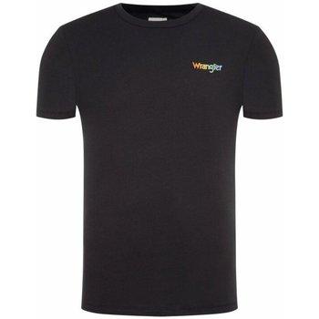 Îmbracaminte Bărbați Tricouri & Tricouri Polo Wrangler T-shirt  Good times bleu