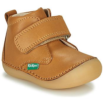 Pantofi Copii Ghete Kickers SABIO Camel