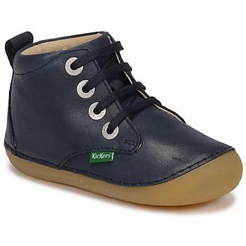Pantofi Copii Ghete Kickers SONIZA Bleumarin