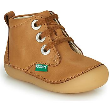 Pantofi Copii Ghete Kickers SONIZA Camel