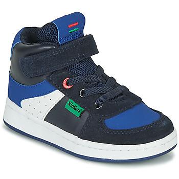 Pantofi Băieți Pantofi sport stil gheata Kickers BILBON MID Bleumarin