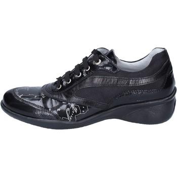 Pantofi Fete Pantofi sport Casual 1A Classe Alviero Martini sneakers vernice pelle Nero