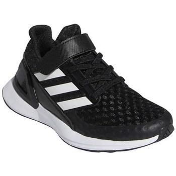 Pantofi Copii Trail și running adidas Originals Rapidarun Alb,Negre